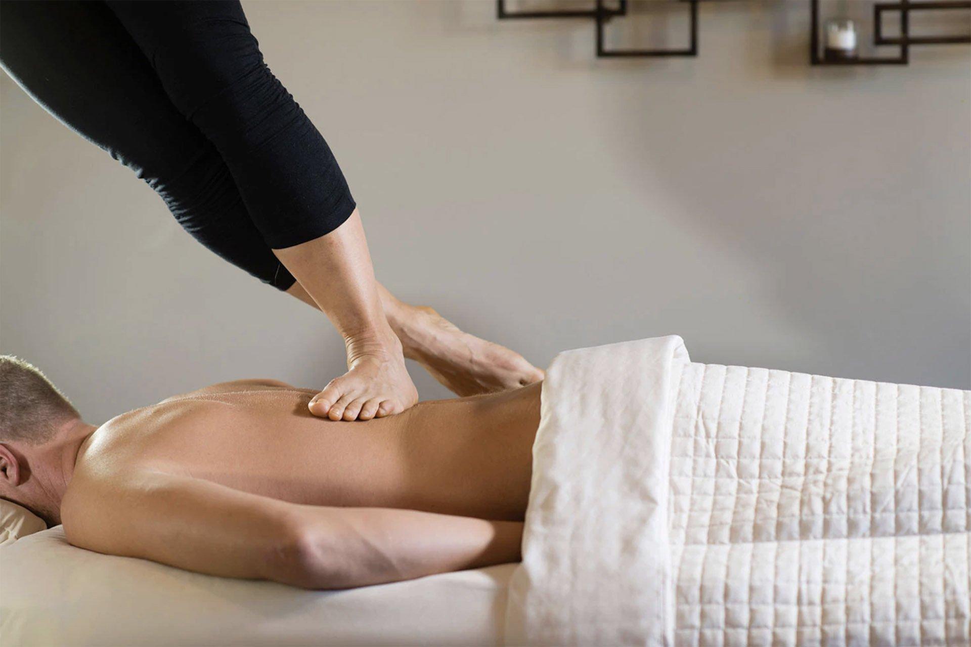 Ashiatsu Massage or Barefoot Massage